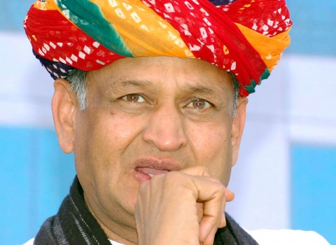 Rajasthan Chief Minister Ashok Gehlot during inauguration of Hal