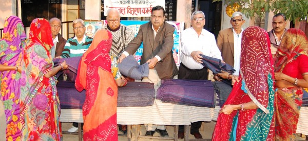 Distributed blankets