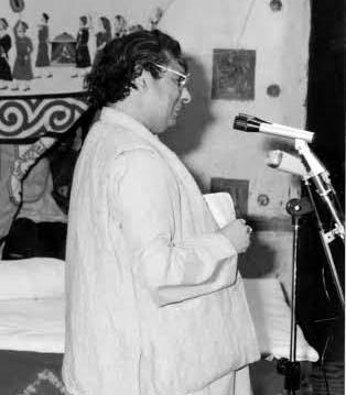 Comic poet hulad Muradabadi