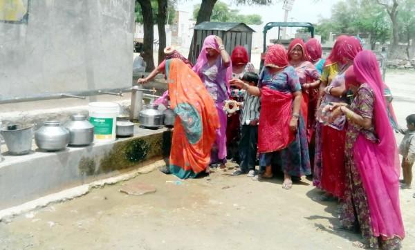 Drinking water shortage