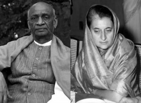 Sardar Vallabhbhai Patel,Indira Gandhi