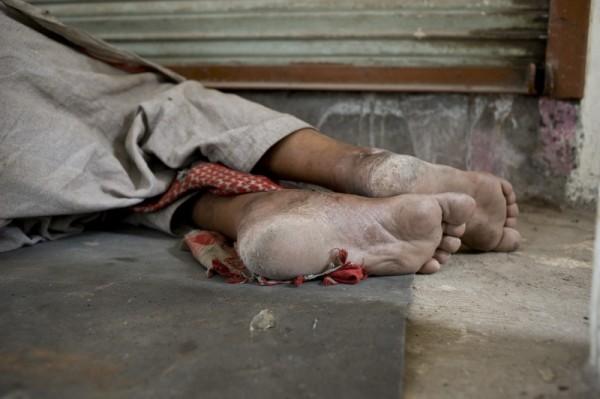 Beggar's death