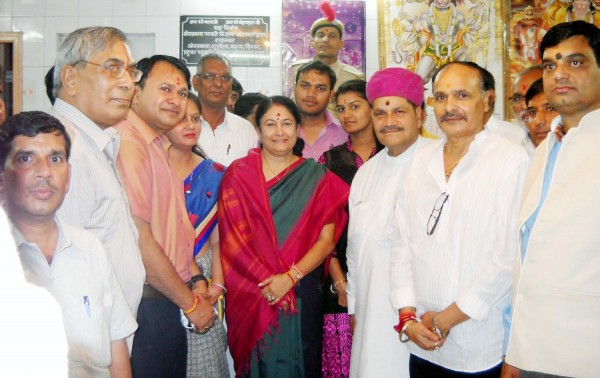 Water Resources Minister Kiran Maheshwari