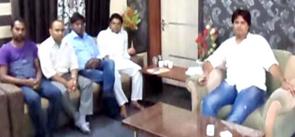 Minerals Minister Raj Kumar Rinwan