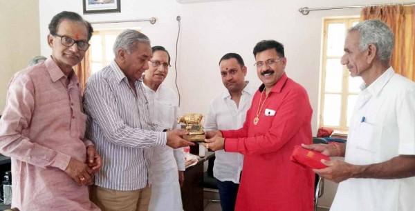 Former chairman Dipendra Singh Shekhawat