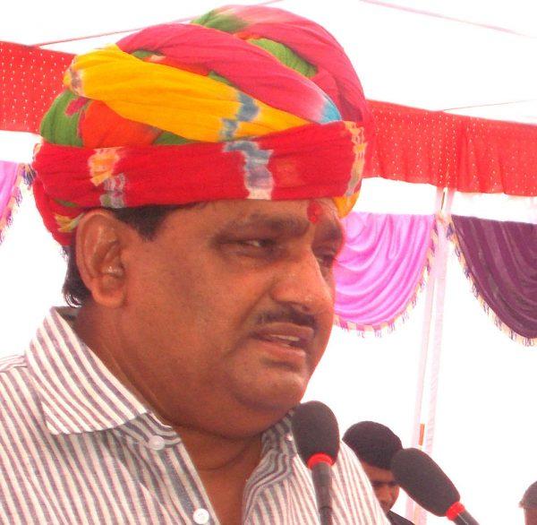 Agriculture Minister Prabhu Lal Saini