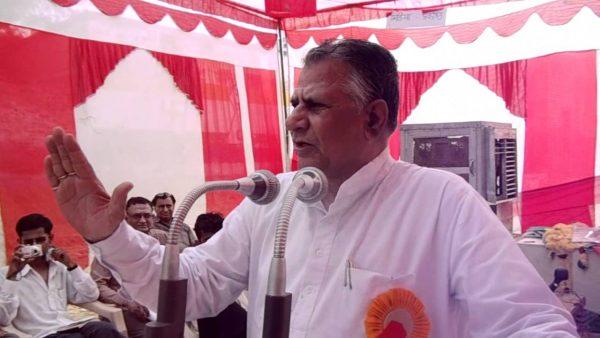 Former Education Minister Master Bhanwar Lal Meghwal