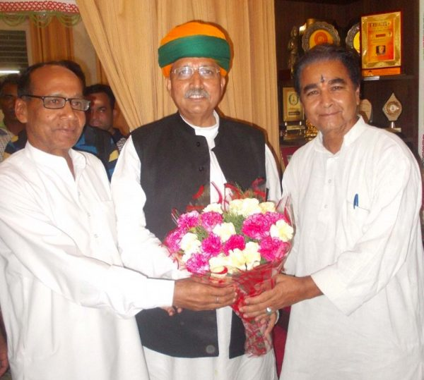 Union Finance Minister Arjun Meghwal
