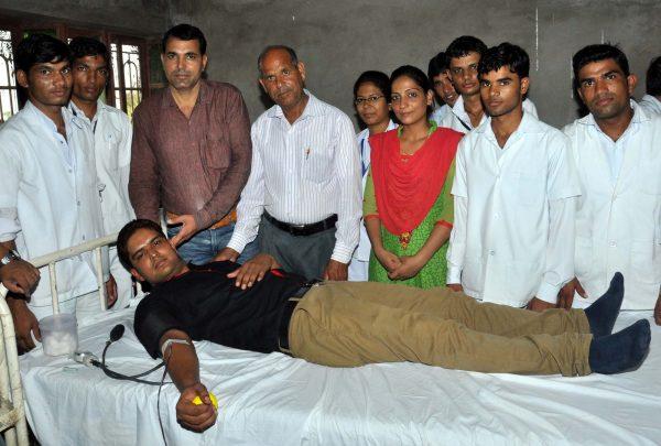 Blood donation Sujangarh